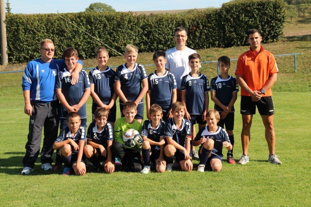D-Junioren des FV Blau-Weiss